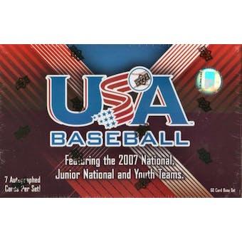 2008 Upper Deck USA Baseball National Team Hobby Set (Box)