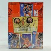 1991/92 Fleer Series 1 Basketball Wax Box (BBCE)