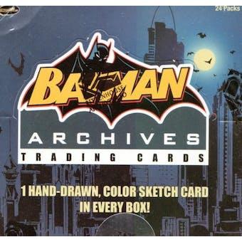 Batman Archives Trading Cards Box (Rittenhouse 2008)