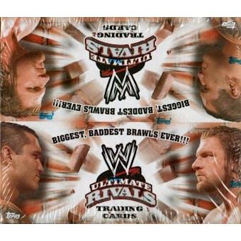 2008 Topps WWE Ultimate Rivals Wrestling Hobby Box