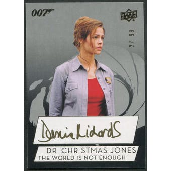 2019 James Bond The World Is Not Enough Denise Richards as Dr. Christmas Jones Auto #27/99