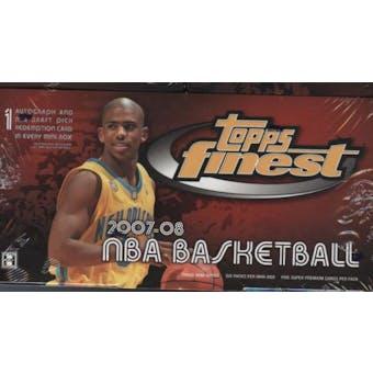 2007/08 Topps Finest Basketball Hobby Box