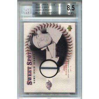 2001 Sweet Spot Game Jersey #JJD Joe DiMaggio BGS 8.5 *0918 (Reed Buy)