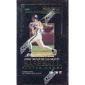 1992 Pinnacle Series 1 Baseball Hobby Box (Reed Buy)