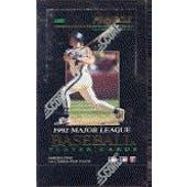 1992 Pinnacle Series 1 Baseball Hobby Box