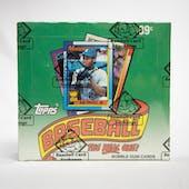 1990 Topps Baseball Cello Box (BBCE)