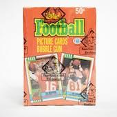 1990 Topps Football Wax Box (BBCE)