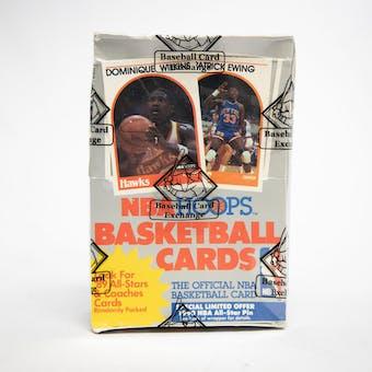 1989/90 Hoops Series 1 Basketball Wax Box (BBCE)