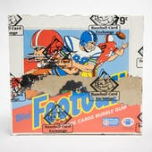 1988 Topps Football Cello Box (BBCE) (X-OUT)