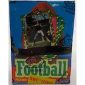 1986 Topps Football Wax Box (Sam's Club) (BBCE) (X-Out) (Reed Buy)