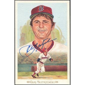 Carl Yastrzemski Boston Red Sox Autographed Perez-Steele Celebration JSA KK52191 (Reed Buy)