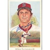 Carl Yastrzemski Boston Red Sox Autographed Perez-Steele Celebration JSA KK52192 (Reed Buy)