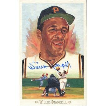 Willie Stargell Pittsburgh Pirates Autographed Perez-Steele Celebration JSA KK52197 (Reed Buy)