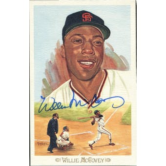 Willie McCovey San Francisco Giants Autographed Perez-Steele Celebration JSA KK52207 (Reed Buy)