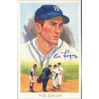 Al Lopez Brooklyn Dodgers Autographed Perez-Steele Celebration JSA KK52210 (Reed Buy)