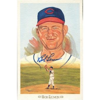 Bob Lemon Cleveland Indians Autographed Perez-Steele Celebration JSA KK52212 (Reed Buy)