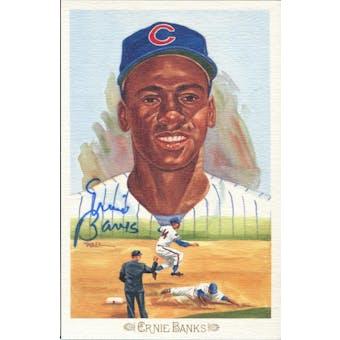 Ernie Banks Chicago Cubs Autographed Perez-Steele Celebration JSA KK52230 (Reed Buy)