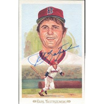 Carl Yastrzemski Boston Red Sox Autographed Perez-Steele Celebration JSA KK52233 (Reed Buy)