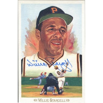Willie Stargell Pittsburgh Pirates Autographed Perez-Steele Celebration JSA KK52235 (Reed Buy)