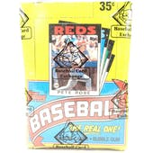 1986 Topps Baseball Wax Box (BBCE)