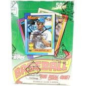 1990 Topps Baseball Wax Box (BBCE) (FASC)