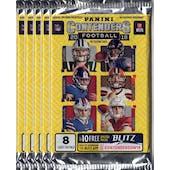 2018 Panini Contenders Football Blaster Pack (Lot of 5) = 1 Blaster Box