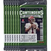 2019 Panini Contenders Draft Picks Football Blaster Pack (Lot of 7) = 1 Blaster Box