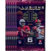 2019 Panini Illusions Football Blaster Pack (Lot of 6) = 1 Blaster Box