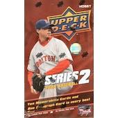 2008 Upper Deck Series 2 Baseball Hobby Box