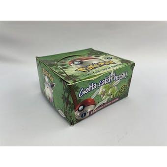 Pokemon EMPTY 1st Edition Jungle Booster Box (No packs, no cards)