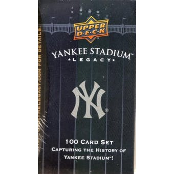 2008 Upper Deck Yankee Stadium Legacy Baseball Box Set