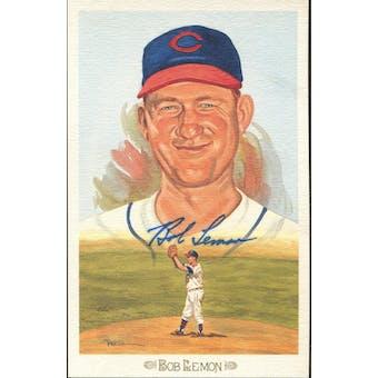 Bob Lemon Cleveland Indians Autographed Perez-Steele Celebration JSA KK52249 (Reed Buy)