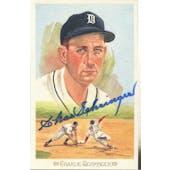 Charlie Gehringer Detroit Tigers Autographed Perez-Steele Celebration JSA KK52257 (Reed Buy)