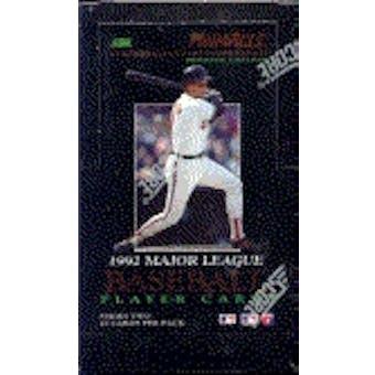 1992 Pinnacle Series 2 Baseball Hobby Box