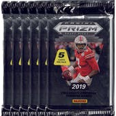 2019 Panini Prizm Draft Football Blaster Pack (Lot of 6) = 1 Blaster Box