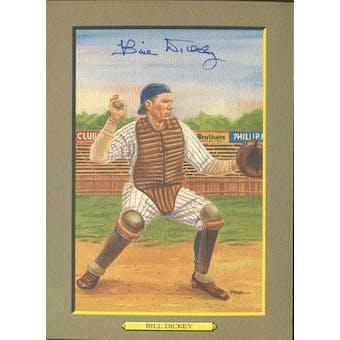 Bill Dickey New York Yankees Autographed Perez-Steele Great Moments JSA KK52152 (Reed Buy)