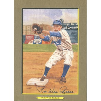 Pee Wee Reese Brooklyn Dodgers Autographed Perez-Steele Great Moments JSA KK52161 (Reed Buy)