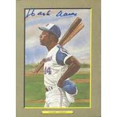 Hank Aaron Atlanta Braves Autographed Perez-Steele Great Moments JSA KK52169 (Reed Buy)