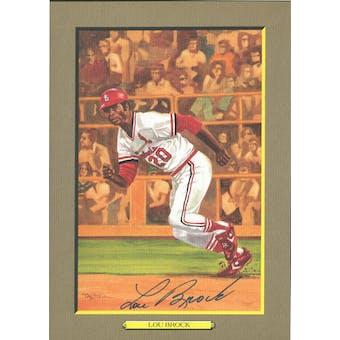 Lou Brock St. Louis Cardinals Autographed Perez-Steele Great Moments JSA KK52181 (Reed Buy)