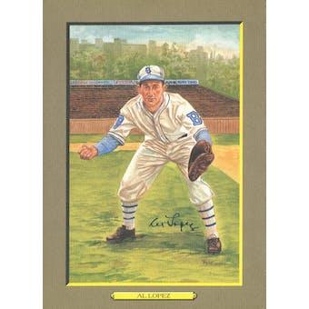 Al Lopez Brooklyn Dodgers Autographed Perez-Steele Great Moments JSA KK52183 (Reed Buy)