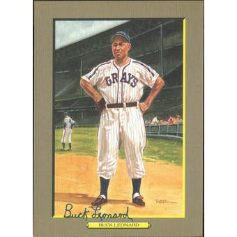 Buck Leonard Homestead Grays Autographed Perez-Steele Great Moments JSA KK52187 (Reed Buy)