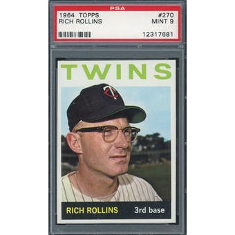 1964 Topps #270 Rich Rollins PSA 9 *7681 (Reed Buy)