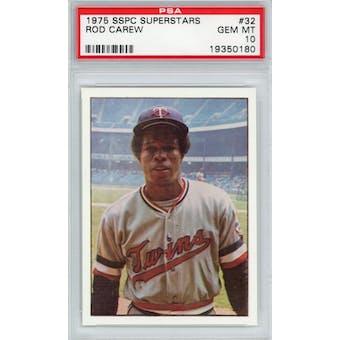 1975 SSPC Superstars #32 Rod Carew PSA 10 *0180 (Reed Buy)