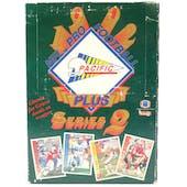 1992 Pacific Plus Series 2 Football Wax Box (Reed Buy)