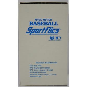 1988 Sportflics Magic Motion Baseball Box (Reed Buy)
