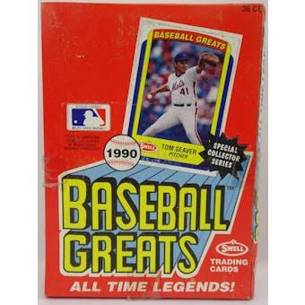 1990 Swell Baseball Greats Baseball Wax Box (Reed Buy)