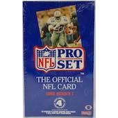 1992 Pro Set Series 1 Football Hobby Box (Reed Buy)