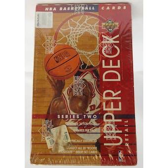 1993 Upper Deck Series 2 Baseball Retail Box (Reed Buy)