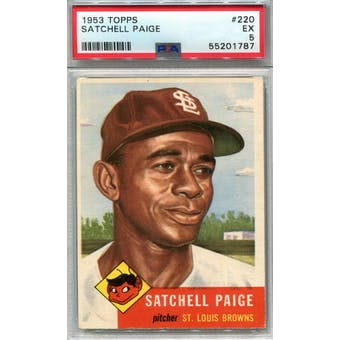 1953 Topps #220 Satchel Paige PSA 5 *1787 (Reed Buy)