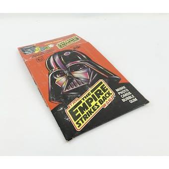 Star Wars Empire Strikes Back Series 1 EMPTY Wax Box (1980 Topps) (Reed Buy)
